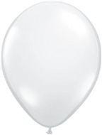 Kwaliteitsballon standaard - wit - 50 stuks