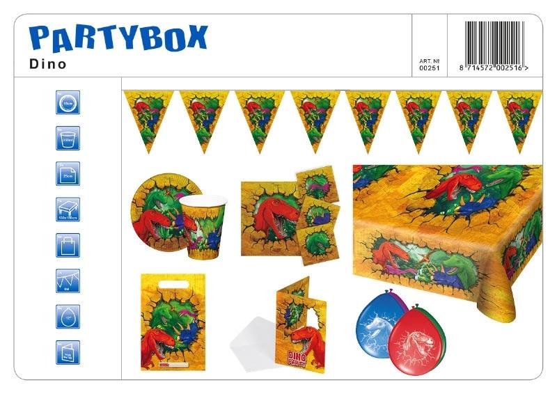 Verjaardagspakket Dinosaurus