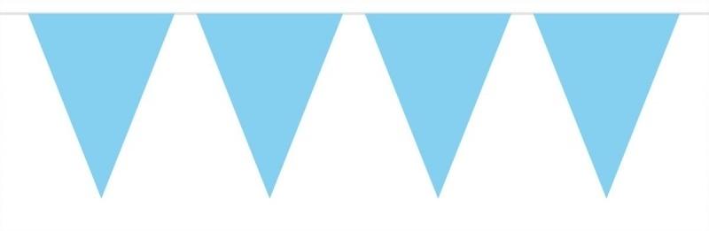 Vlaggenlijn mini baby blauw
