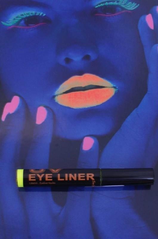 Neon geel eyeliner