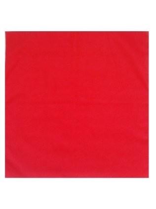 Zakdoek rood effen