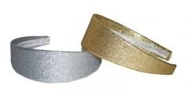 Haarband zilver