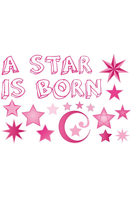 Adhesive A star is born meisje
