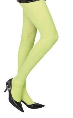 Neon panty groen