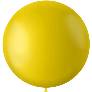 Tuscan Yellow Mat Ballon