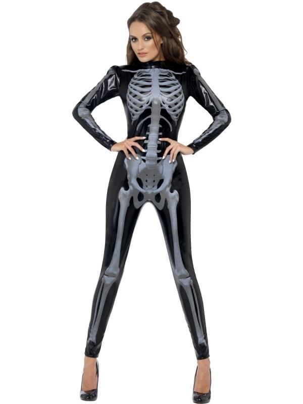 Skeleton catsuit 3D
