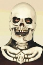 Masker doodskop met hals