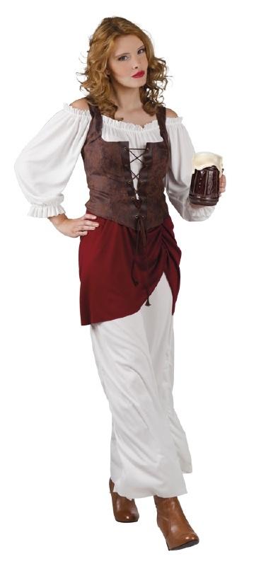 Middeleeuwse bardame