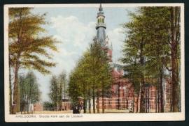 APELDOORN, Groote Kerk aan de Loolaan. Ongelopen kaart.