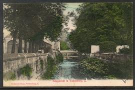 VALKENBURG, Geulgezicht te Valkenburg. Gelopen kaart.