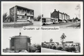 HEERJANSDAM. Groeten uit Heerjansdam. Gelopen Kaart.