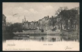 ZIERIKZEE, Oude Haven. Gelopen kaart.