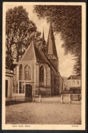 DOORN, Ned. Herv. Kerk, Gelopen kaart.