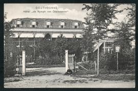 OOSTVOORNE, Hotel de Nymph van Oostvoorne. Gelopen kaart.