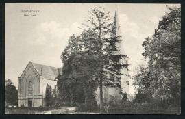 OOSTERBEEK, Herv. Kerk. Ongelopen kaart.