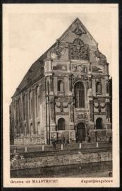 MAASTRICHT, Groeten uit Maastricht, Augustijnengebouw. Ongelopen kaart.