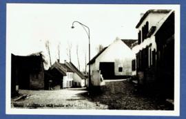 THORN, Beekstraat met huize De Kraak. Originele glasplaat druk. Ongelopen kaart.