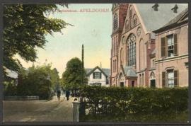 APELDOORN, Piet Joubertstraat. Gelopen kaart.