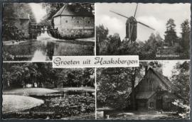 HAAKSBERGEN, Groeten uit Haaksbergen. Gelopen kaart.