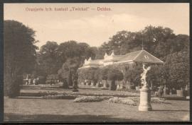 DELDEN, Oranjerie b/h kasteel Twickel. Ongelopen kaart.