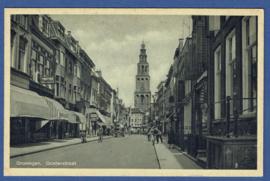 GRONINGEN, Oosterstraat. Ongelopen kaart.