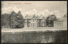 BINGERDEN, Huize Wielbergen. Ongelopen kaart.