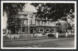 LOCHEM, Hotel en Chalet `t Hof van Gelre. Gelopen kaart.
