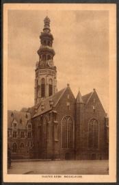 MIDDELBURG. Nieuwe Kerk. Gelopen kaart.