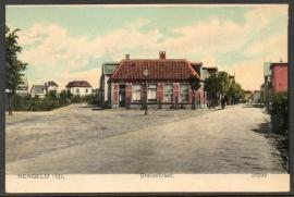 HENGELO, Steinstraat. Ongelopen kaart.