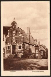 FRANEKER, Koorndragershuis. Gelopen kaart.
