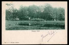 APELDOORN, Oranje Park. Gelopen kaart.