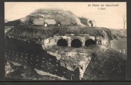MAASTRICHT, St. Pieter bij MAASTRICHT. `t Fort. Ongelopen kaart.