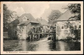 HAAKSBERGEN, De Watermolen. Gelopen kaart.