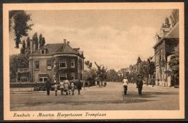 ENSCHEDE, Maarten Harpertszoon Tromplaan, Ongelopen kaart.