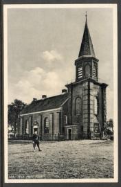 URK, Ned. Herv. Kerk. Ongelopen kaart.