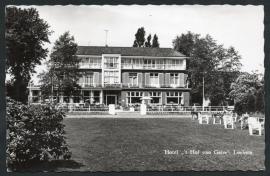 LOCHEM, Hotel `t Hof van Gelre. Gelopen kaart.