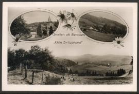 SLENAKEN, Groeten uit SLENAKEN, klein Zwitserland. Gelopen kaart.