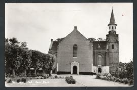 NUNSPEET, Ned. Herv. Kerk. Gelopen kaart.
