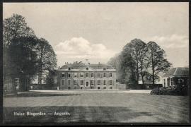 ANGERLO, Huize Bingerden. Ongelopen kaart.