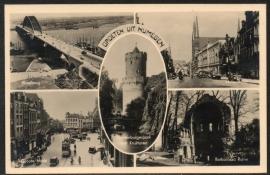 NIJMEGEN, Groeten uit Nijmegen. Ongelopen kaart.
