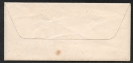 Briefje met langebalkstempel GROOT AMMERS naar Schoonhoven.