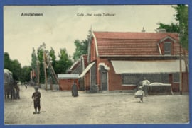 AMSTELVEEN, Cafe Het oude Tolhuis. Ongelopen kaart.