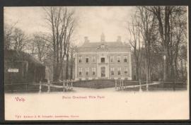 VELP, Huize Overbeek Villa Park. Ongelopen kaart.