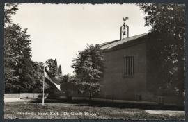 OOSTERBEEK, Herv. Kerk De Goede Herder. Gelopen kaart.