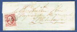 VLISSINGEN 1861. Briefomslag van VLISSINGEN naar Winterswijk..