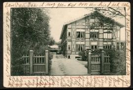 OOSTVOORNE. Ons Genoegen, L.C. Friedrich. Gelopen kaart.