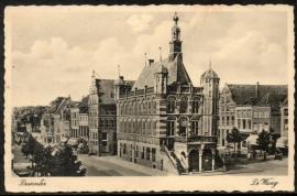 DEVENTER, De Waag. Gelopen kaart.