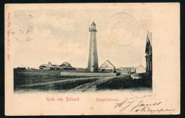 HOEK VAN HOLLAND, Hoogelichttoren. Gelopen kaart.