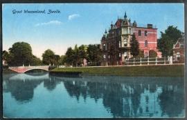 ZWOLLE, Groot Weezenland. Gelopen kaart.