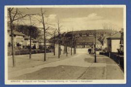 ARNHEM, kruispunt van Dalweg, Hommelscheweg en Thomas a Kempislaan. Gelopen kaart.